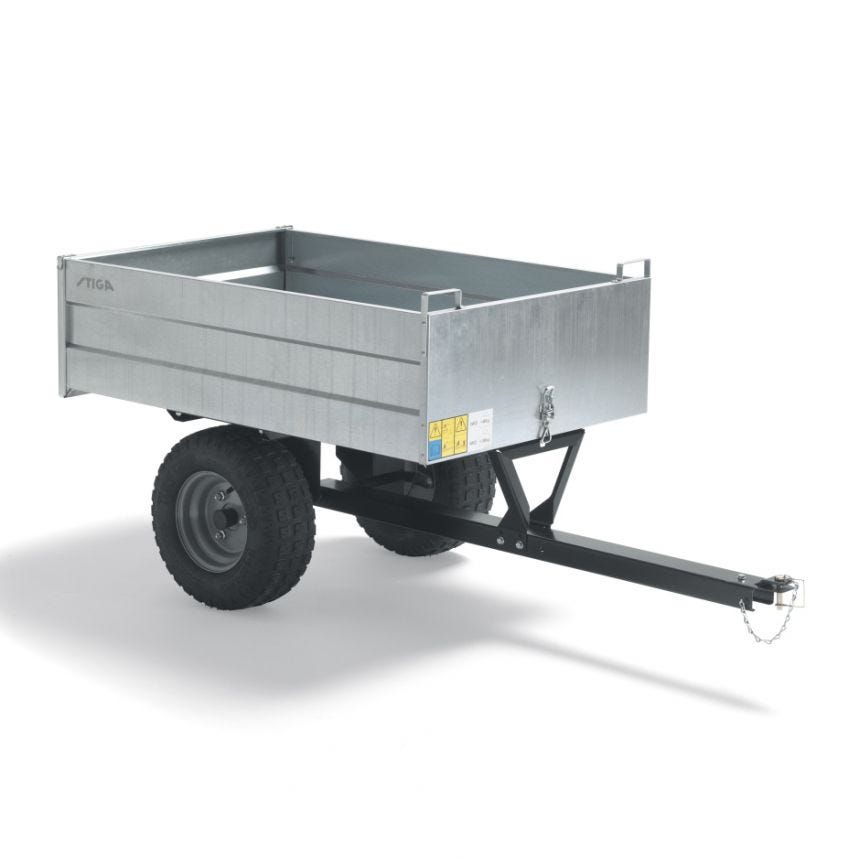 STIGA Pro-vogn, galvaniseret