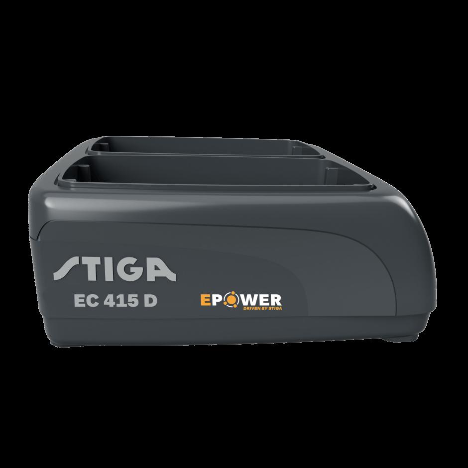 STIGA Dobbeltlader til 500, 700- og 900-serien - EC 415 D