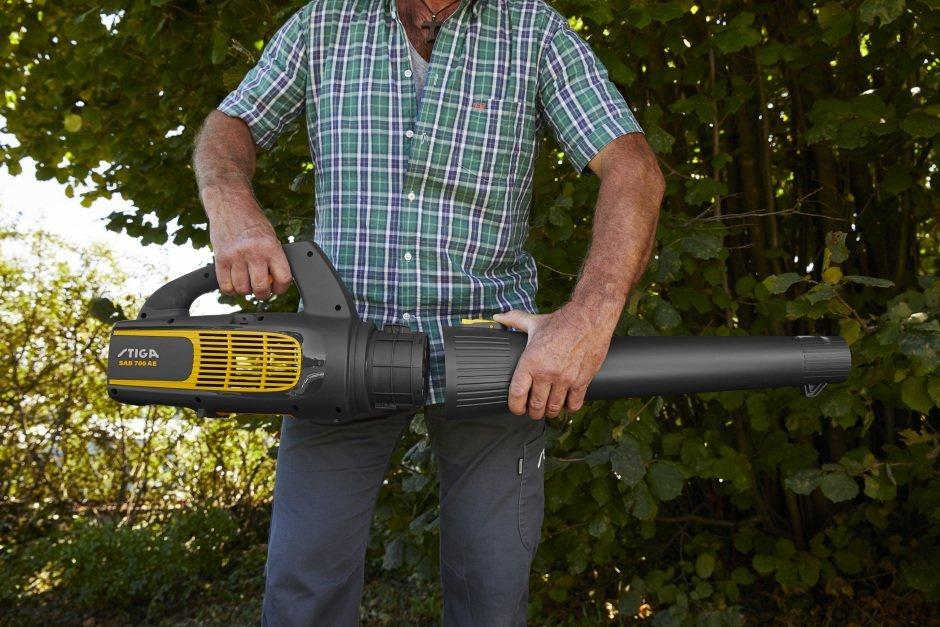 STIGA SAB 700 AE - Løvblæser u/batteri