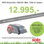 Solo robotplæneklipper Premium PRO Robolinho 1200 W