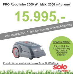 Solo robotplæneklipper Premium PRO Robolinho 2000W