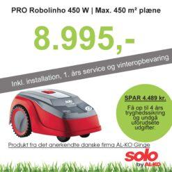 Solo robotplæneklipper Premium PRO Robolinho 450W