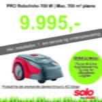 Solo robotplæneklipper premium PRO Robolinho 700 W